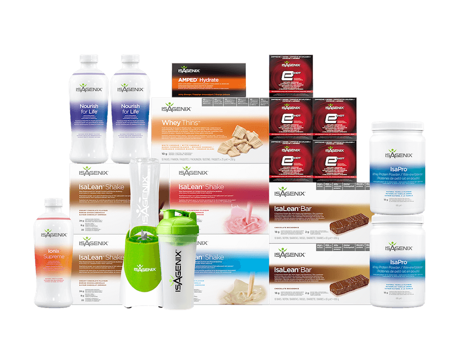 Isagenix Energy and Performance Premium Pack