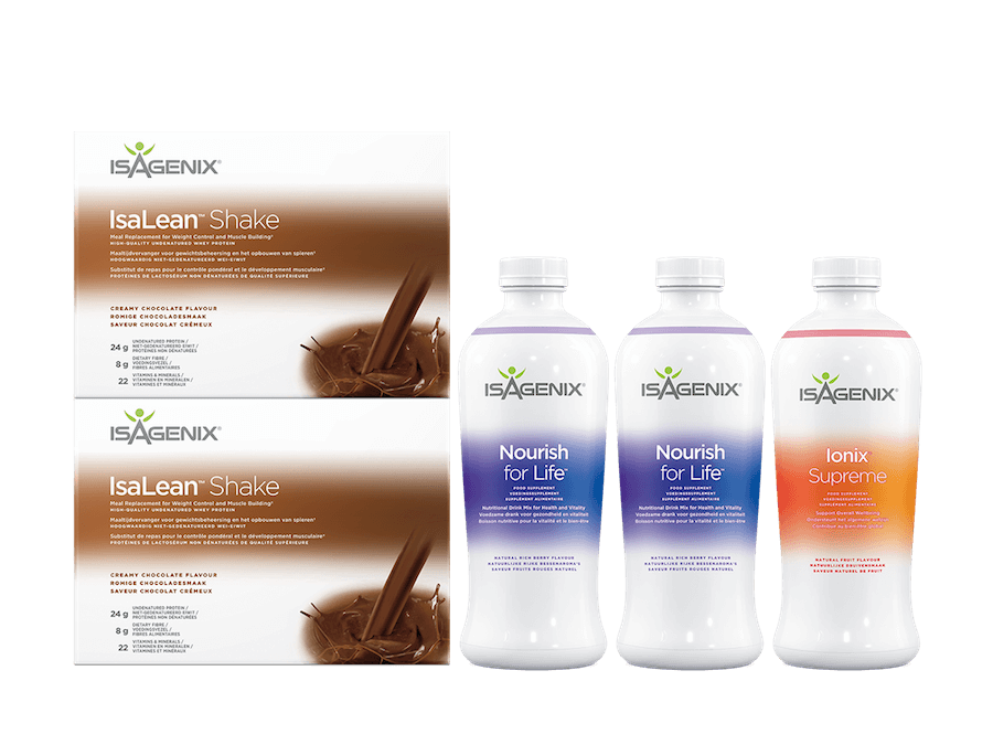 Isagenix Shake and Nourish Pack