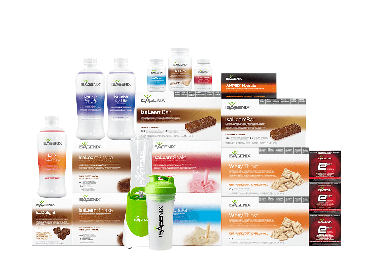 Isagenix Weight Management Premium Pack