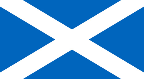 Scotland flags